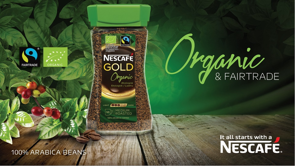 Nescafé Gold Organic & Fairtrade